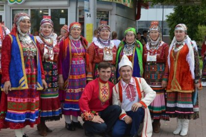 Фото закамских удмуртов в национальной одежде