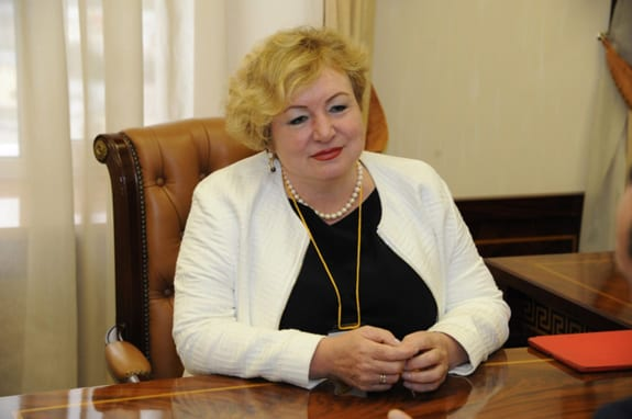 Фото председателя совета ассамблеи народов России Светланы Смирновой