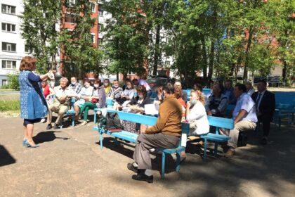 Фото Татьяна Ишматова выступает перед людьми