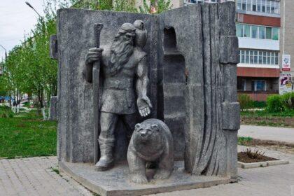 Фото памятника Кудым-ош