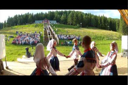 "Фото Эшъёс эктон на сцене конкурса ""Элькуновидение. Эктон - 2015"""