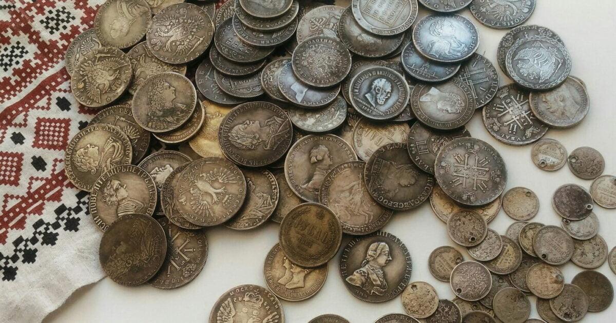 фото старинные монеты