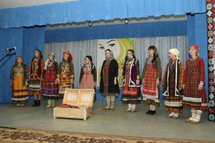 Фото конкурса удмуртских красавиц в Башкортостане