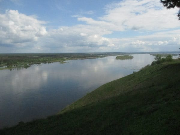Фото остров на реке Кама
