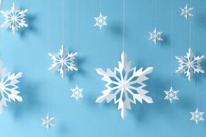 Снежинки из бумаги для новогоднего оформления