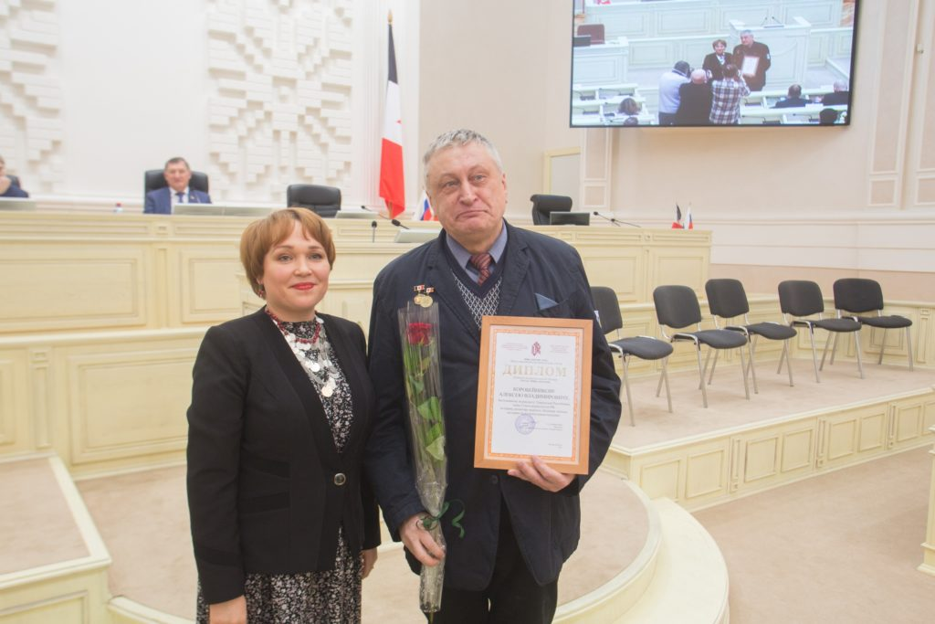 фото Алексей Коробейников, лауреат премии имени Эрика Батуева