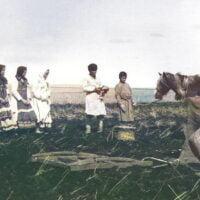 фото моление удмуртов перед весенней пахотой