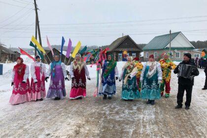 фото праздннование Масленицы в Можгинском районе 2020 года